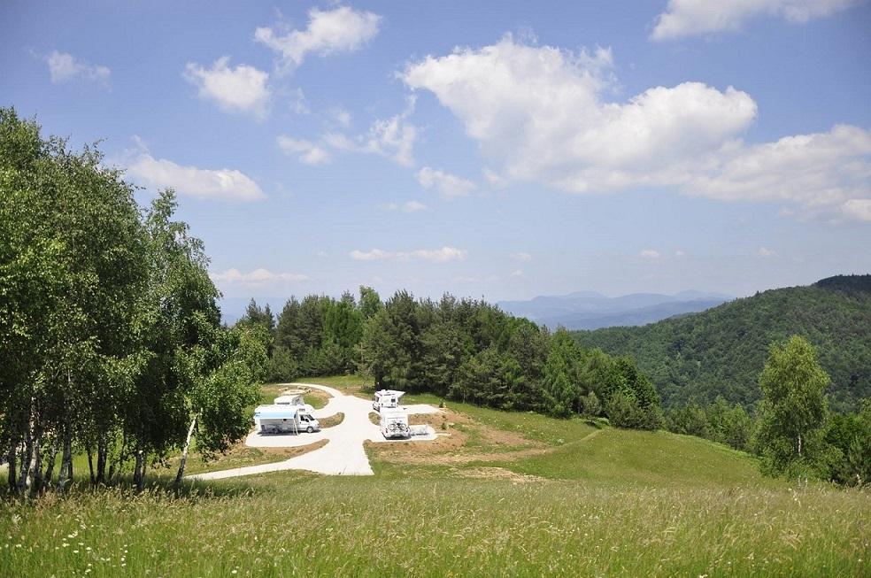 Motorhome, Tourist Village Pristava