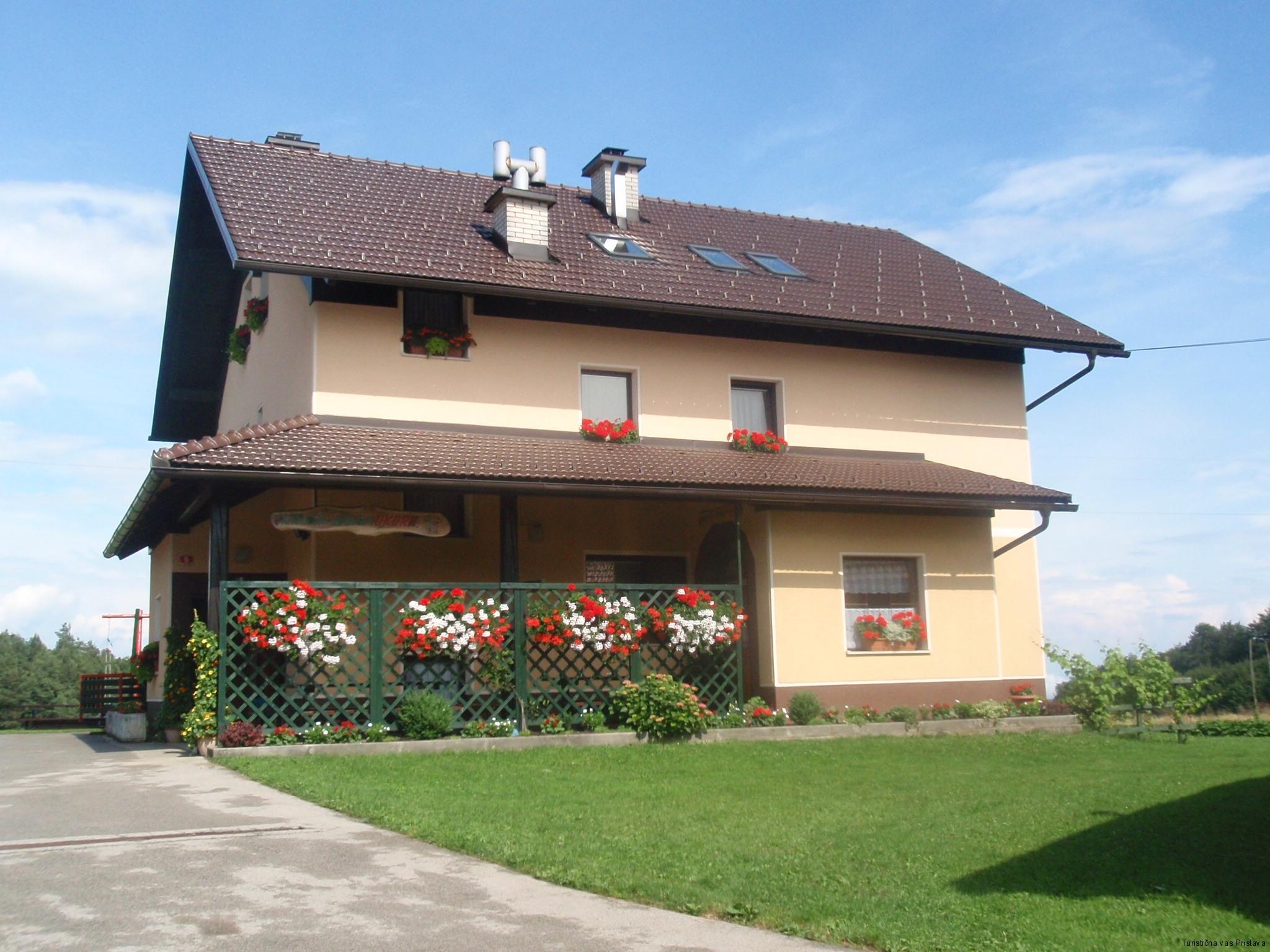 Zahodni del hiše Pr Okornu