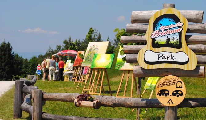 WoodLand dnevni dogodek v Turistični vasi Pristava