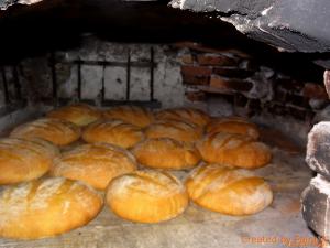 Kruh v krušni peči