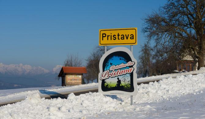 Zimska idila Turistična vas Pristava1