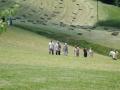 Pokošeni travniki in obiskovlaci otvoritve Parka v TVP