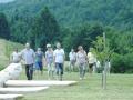 Obiskovlaci otvoritve Parka v TVP