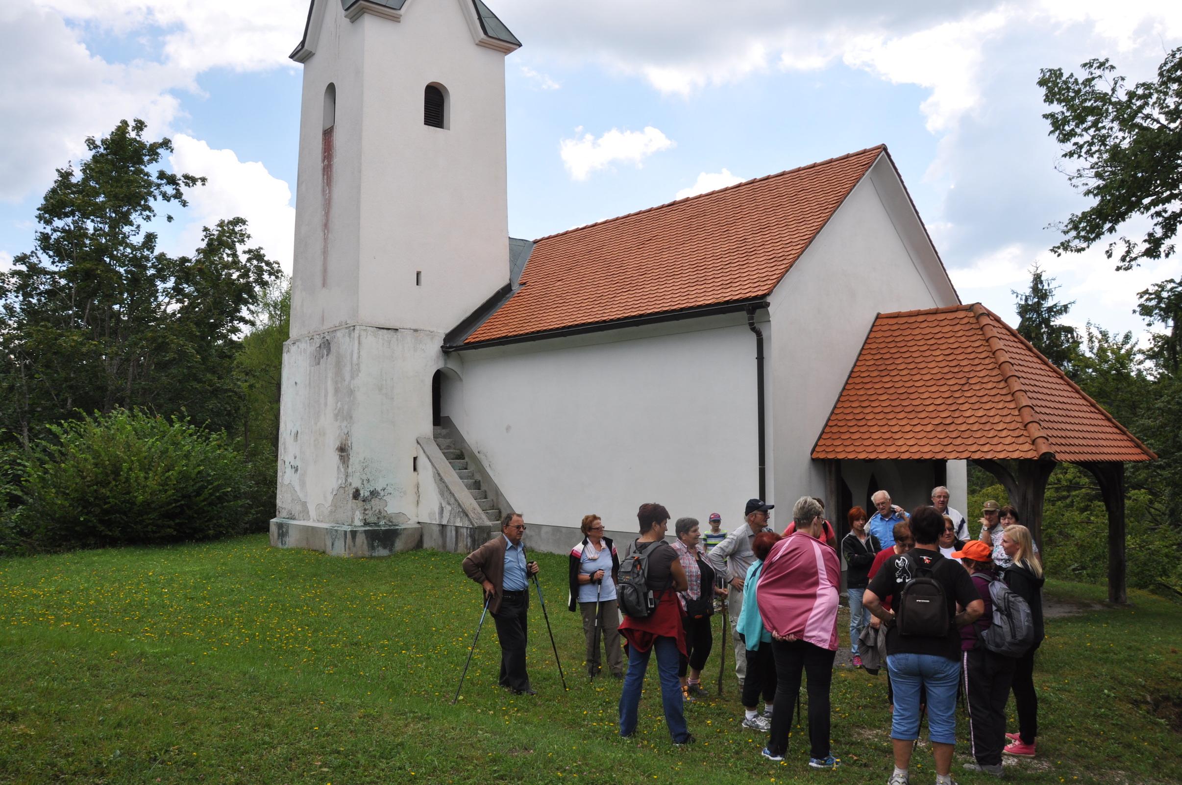 Obisk cerkve sv. Lamberta