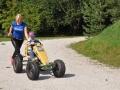 Tekma z go-karti na pedala v Pristni naravi!